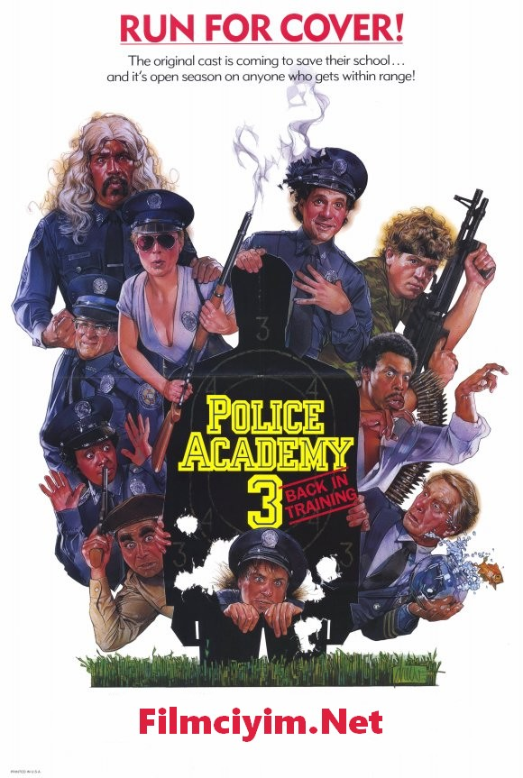 Polis Akademisi 3 – Police Academy 3: Back in Training (1986)