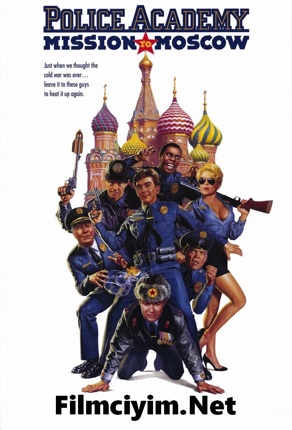 Polis Akademisi 7 – Police Academy 7: Mission To Moscow (1994)