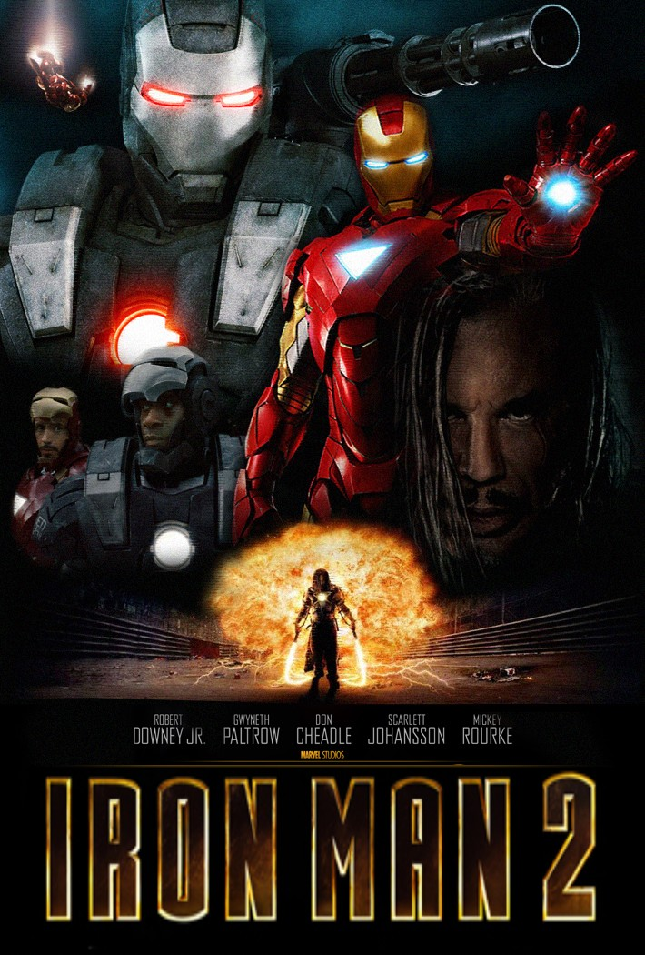 Demir Adam 2 – Iron Man 2 (2010)