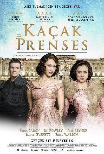 Kaçak Prenses – A Royal Night Out (2015)
