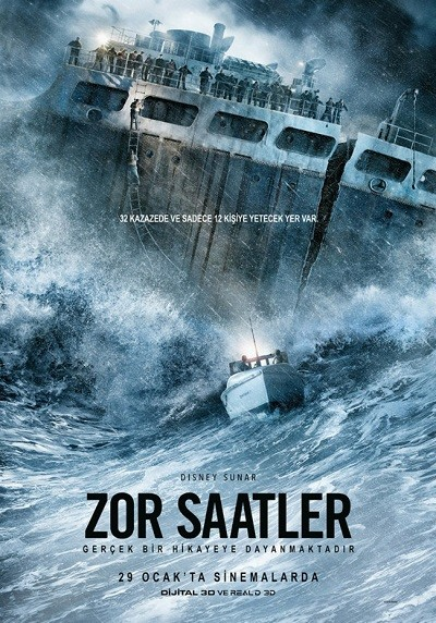 Zor Saatler – The Finest Hours (2016)