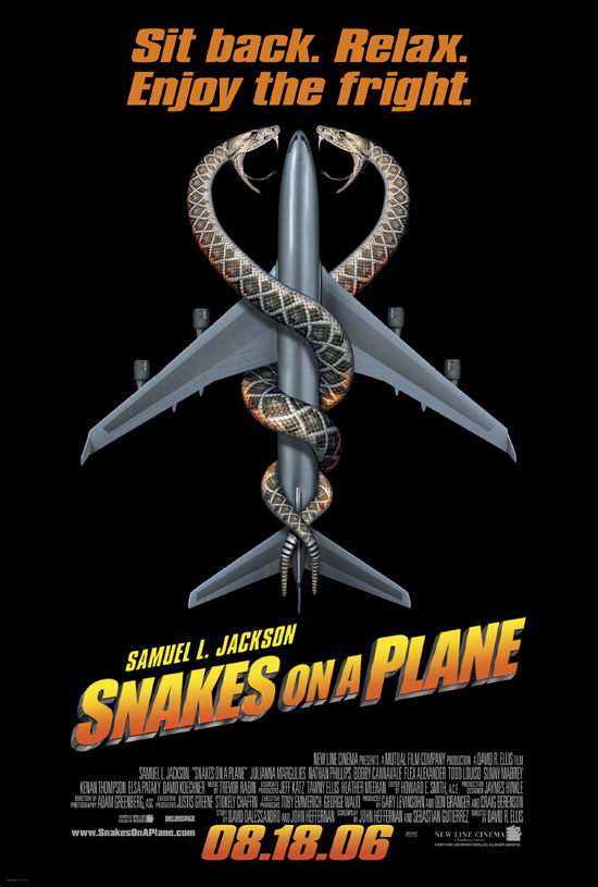 Katil Yılanlar – Snakes On A Plane (2006)