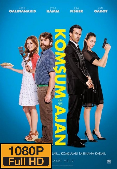 Komşum Bir Ajan – Keeping Up with the Joneses (2016)