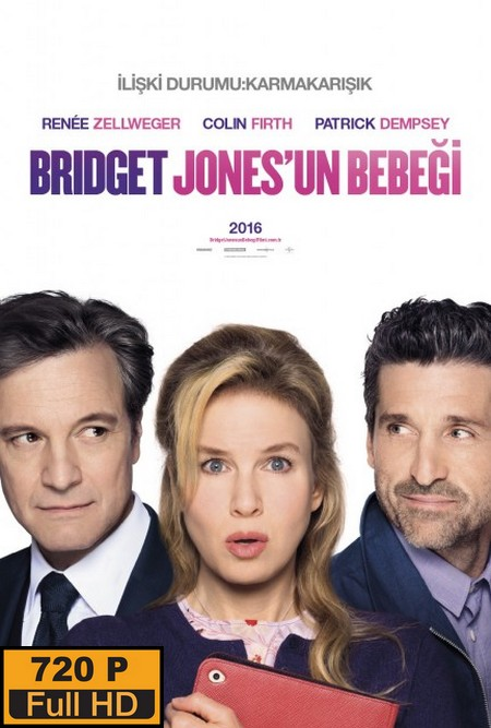 Bridget Jones'un Bebeği – Bridget Jones's Baby (2016)