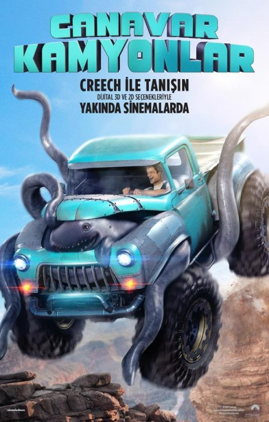 Canavar Kamyonlar – Monster Trucks (2016)