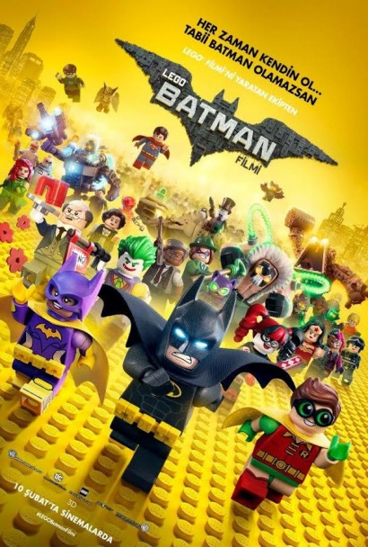 Lego Batman Filmi – The LEGO Batman Movie (2017)