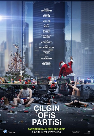 Çılgın Ofis Partisi – Office Christmas Party (2016)
