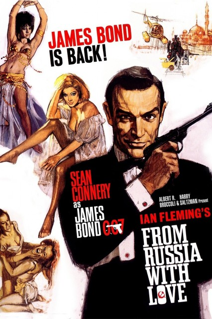 007 James Bond: Rusyadan Sevgilerle – From Russia With Love (1963)