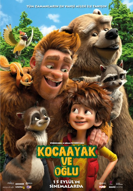 Kocaayak ve Oğlu – The Son of Bigfoot (2017)