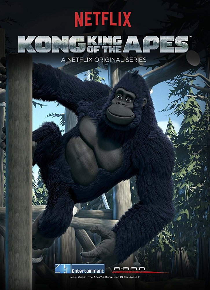Maymunlar Kralı Kong – Kong: King of the Apes (1. Sezon – 2016)
