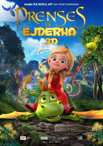 Prenses ve Ejderha – The Princess and the Dragon (2018)