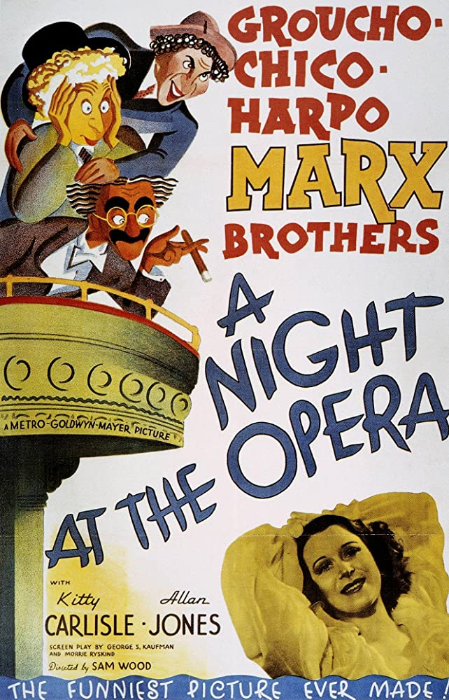 3 Ahbap Çavuşlar Operada – A Night At The Opera (1935)