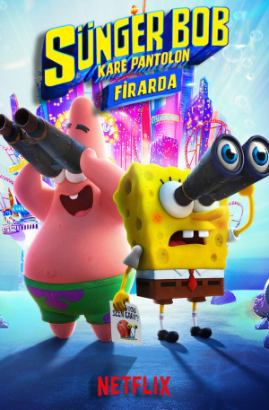 Sünger Bob Kare Pantolon: Firarda – The SpongeBob Movie: Sponge on the Run (2020)