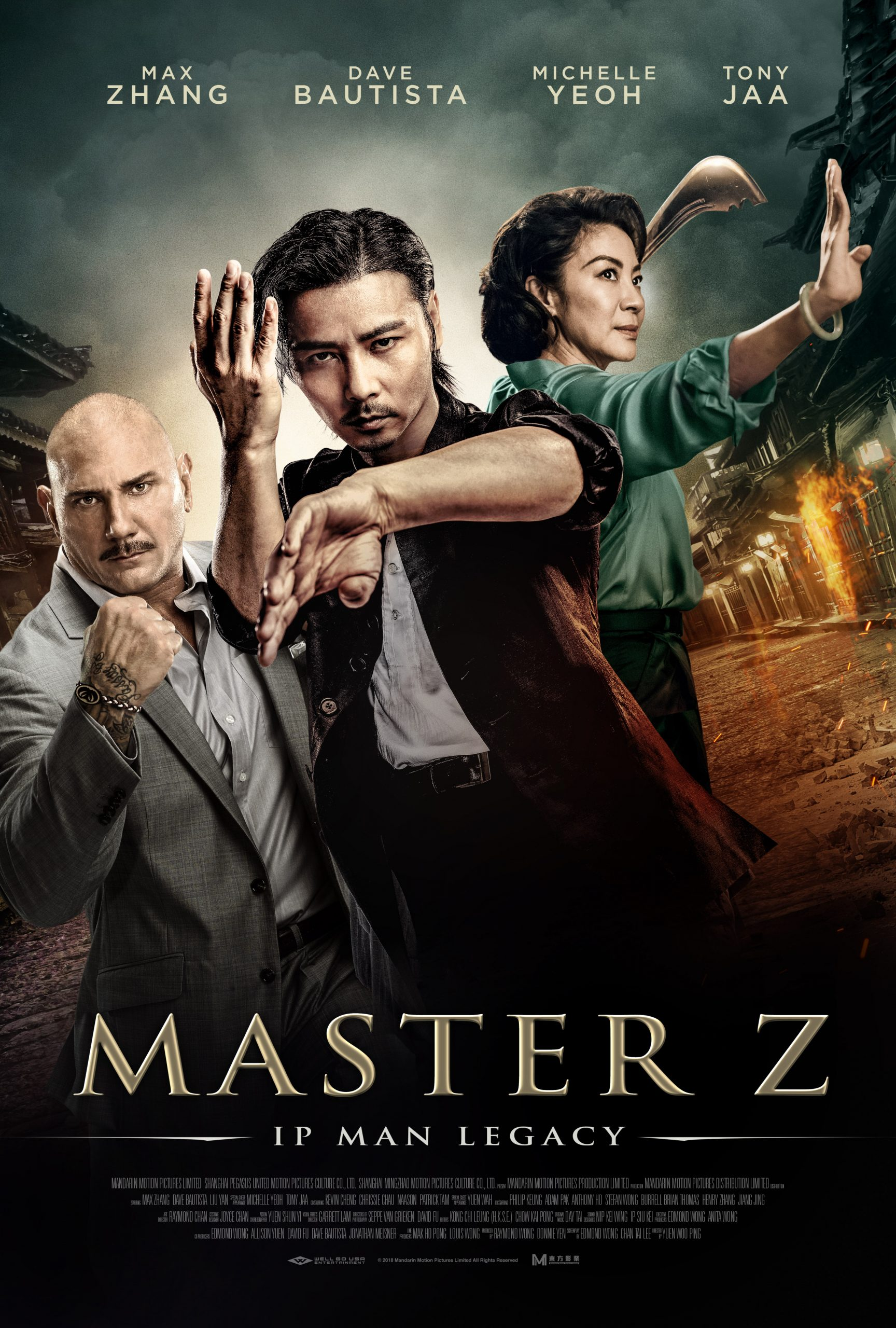 Usta Z: Ip Man'in Mirası – Ip Man Legacy: Master Z (2018)