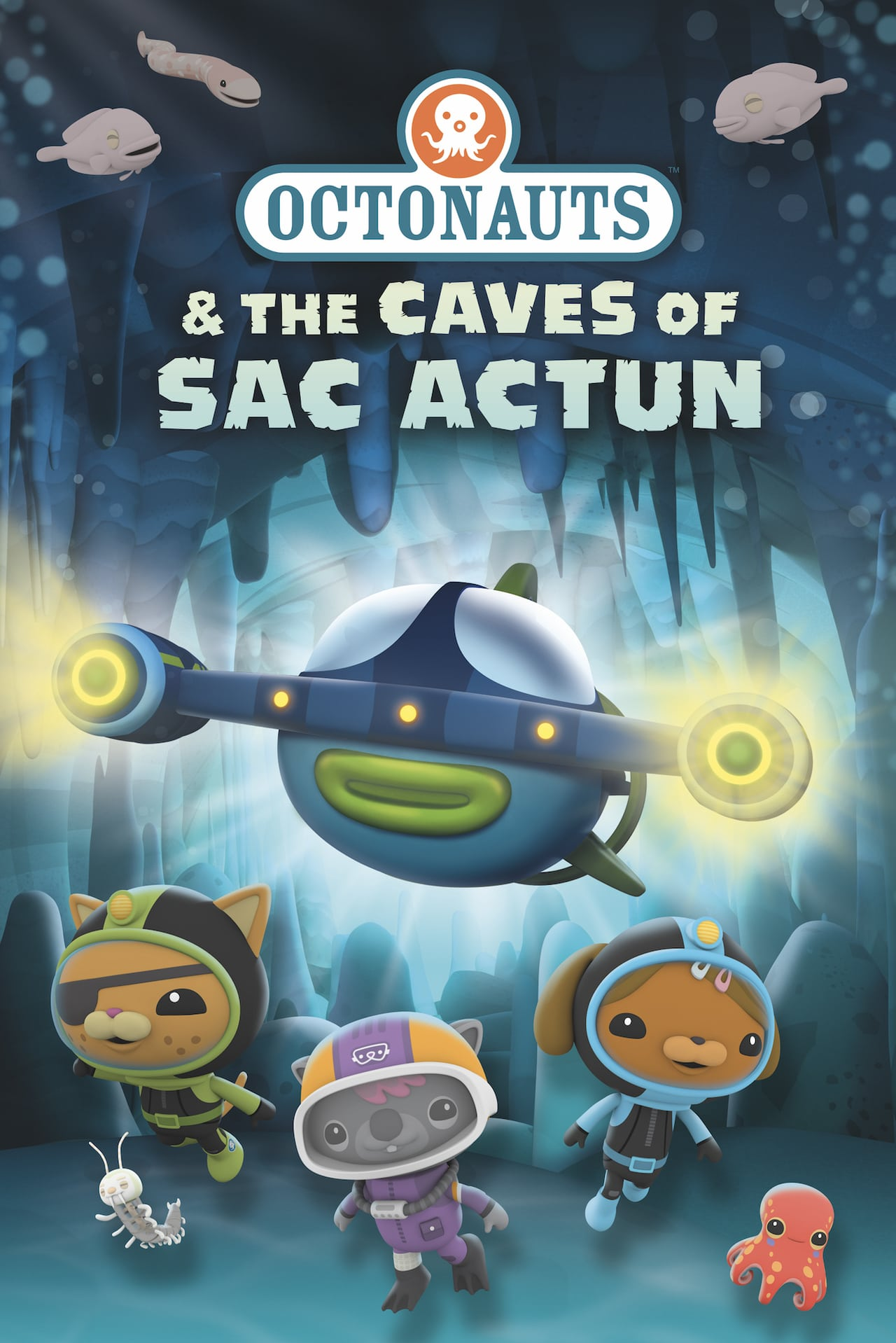 Octonautlar ve Sac Actun Mağaraları – Octonauts and the Caves of Sac Actun (2020)